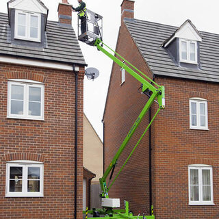 Nifty 120 Boom Lift / Cherry Picker - Trailer Mounted (12.2m)